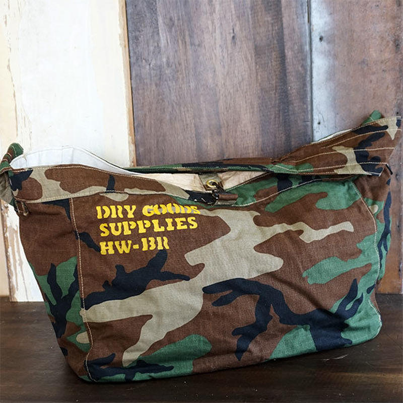 WD Camo Newspaper Bag