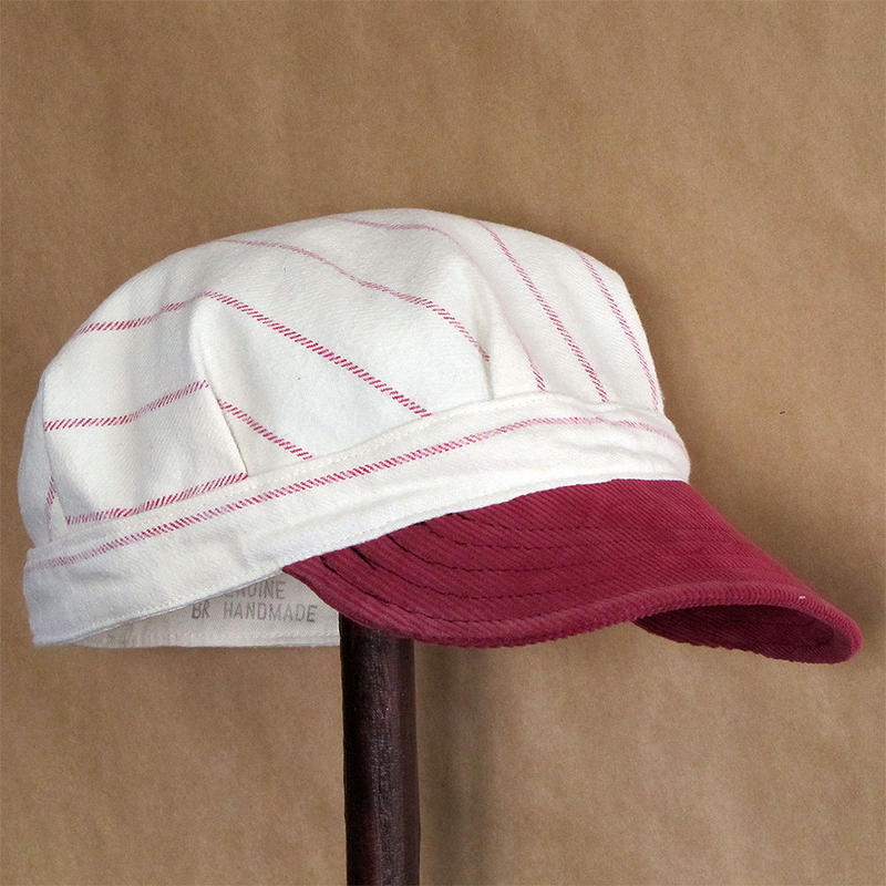 Vtg Redbrim Engineer Cap
