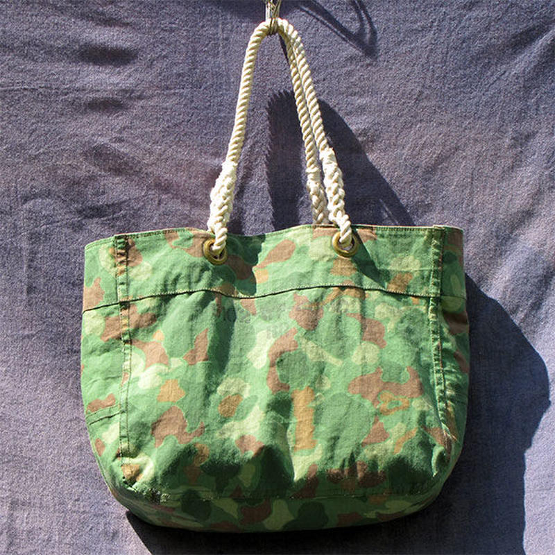 Vtg Duck Hunter Tote Bag