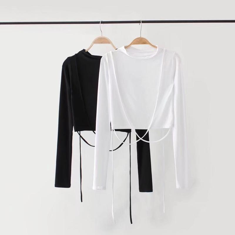 LADY CORD LONGSLEEVE TOPS 2 COLORS