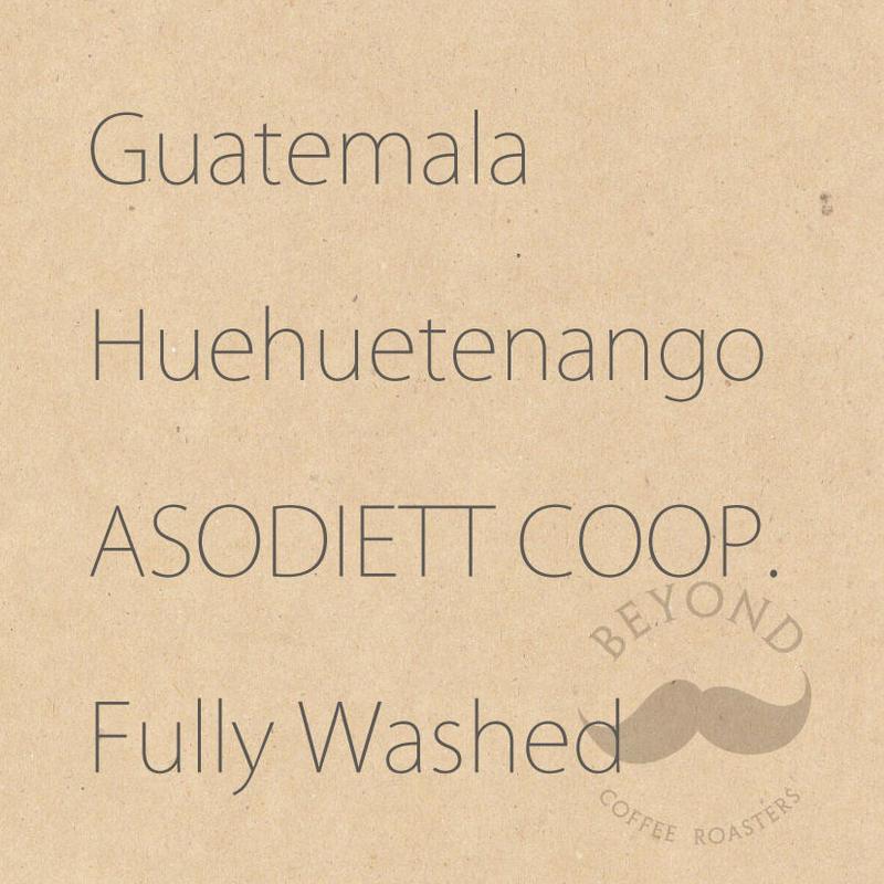 Guatemala Huehuetenango ASODIETTO COOP.  Fully washed - 200g