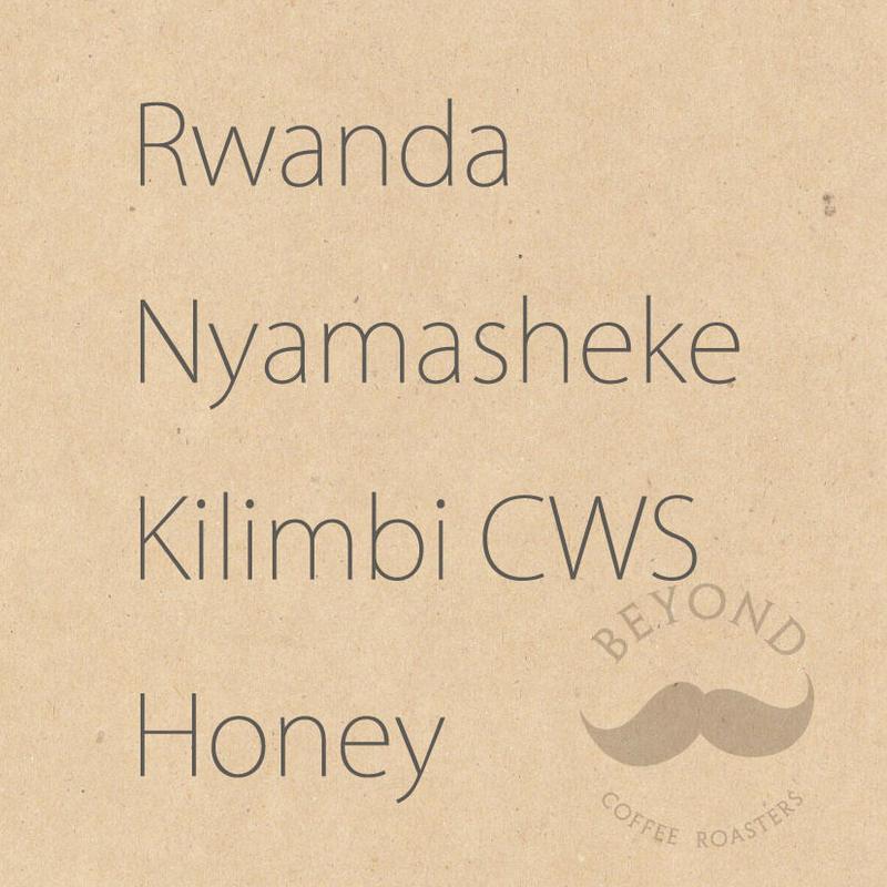 Rwanda Nyamasheke Kilimbi CWS Honey process - 100g