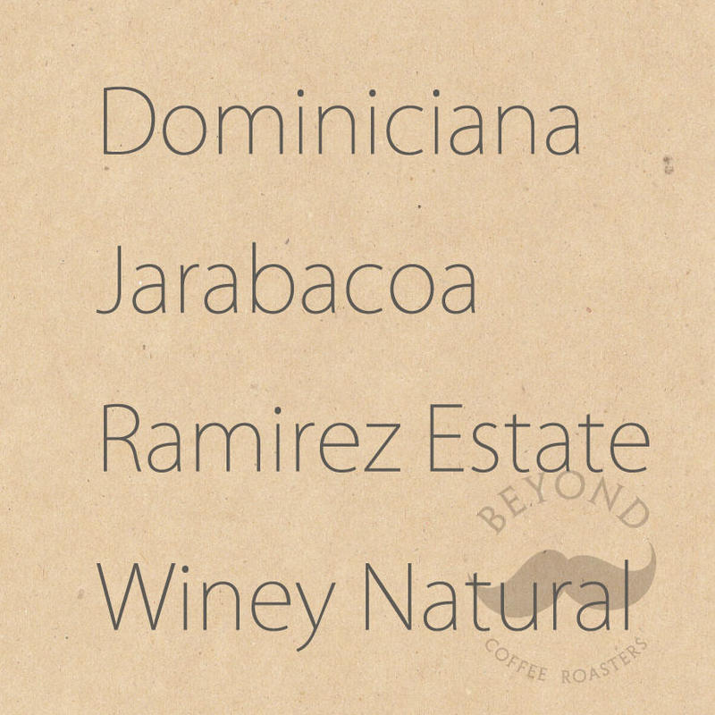 Dominicana Jarabacoa Ramirez Estate  Winey Natural process - 200g