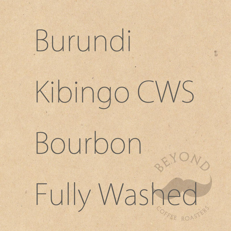 Burundi Kayanza Kibingo CWS Bourbon Fully Washed - 200g