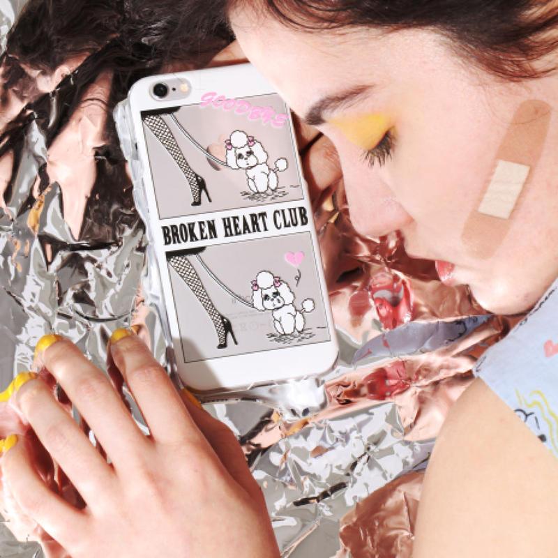 """""""BROKEN HEART CLUB""""  iPhone5/5S Case"""