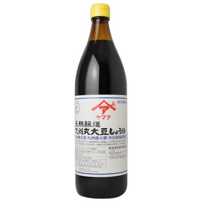 天然醸造 九州丸大豆しょうゆ900ml