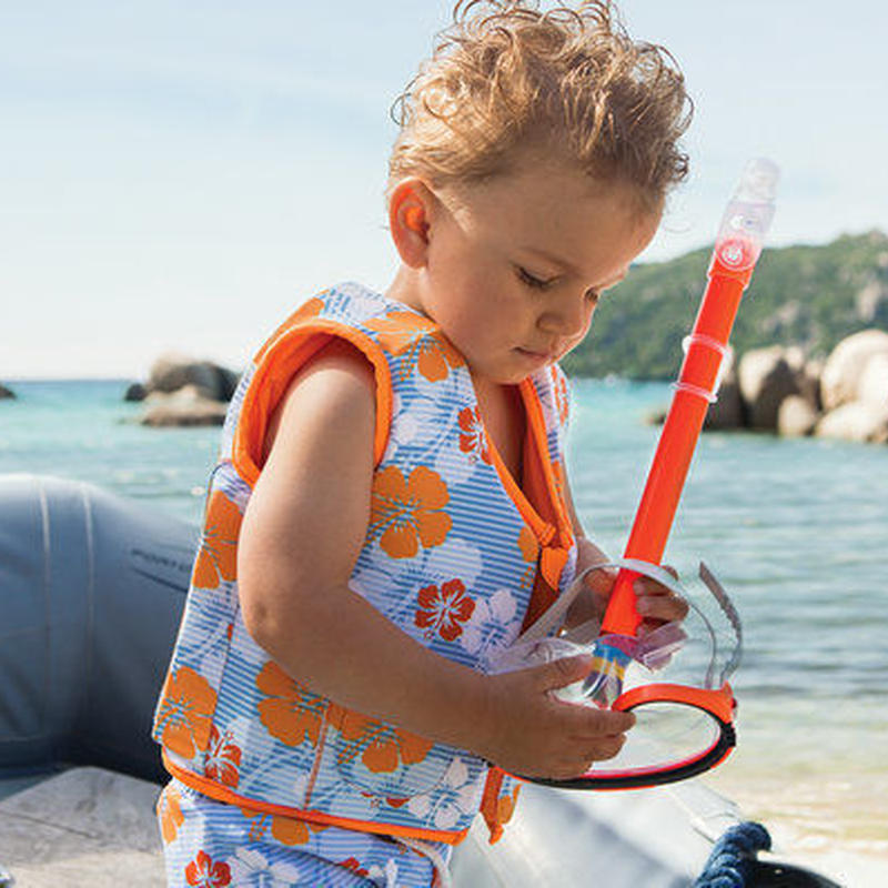 "Archimede ""HAWAII ORANGE SWIM JACKET"" スイムジャケット for 2歳 BOYS"