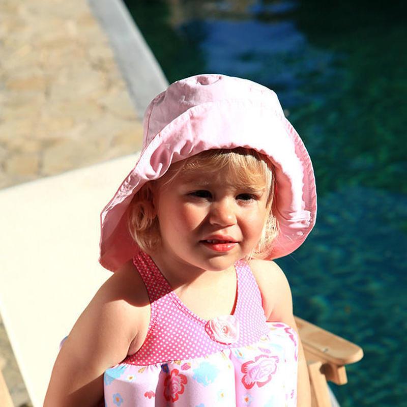 """Archimede """"POMPOM PINK HAT""""  スイムハット・ピンク for Babys & GIRLS"""