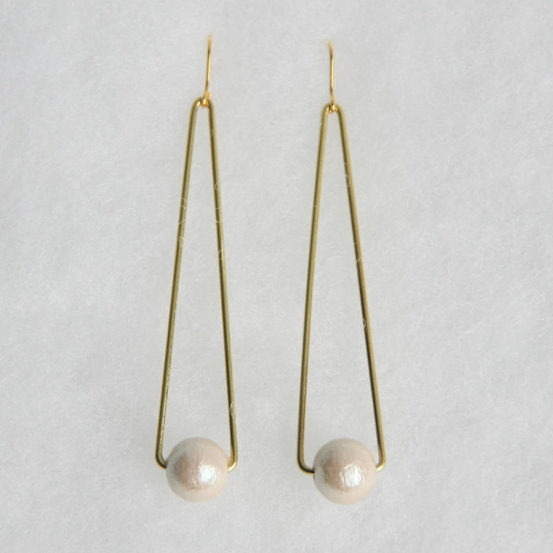 sankaku pearl pierce long [VP-034k]