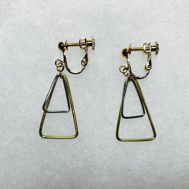 sankaku earring double [VE-014]