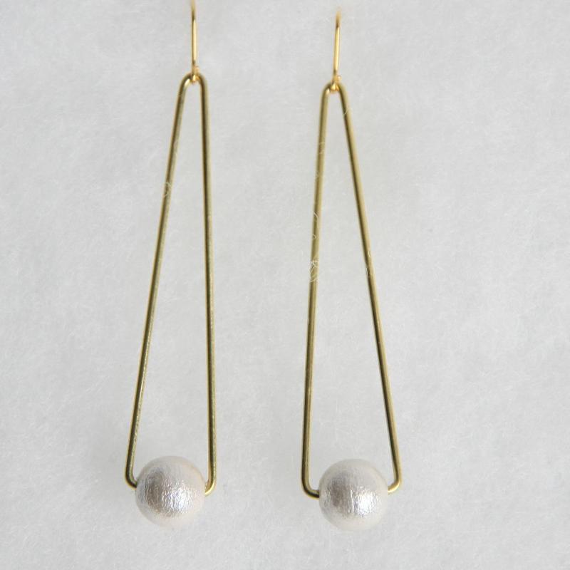 sankaku pearl pierce long [VP-034w]