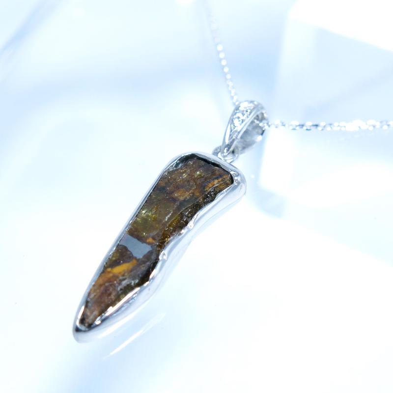 パラサイトイミラック隕石ダイヤPt900ネックレス