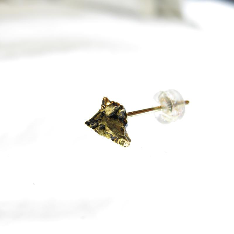 ナンタン隕石×18kピアス