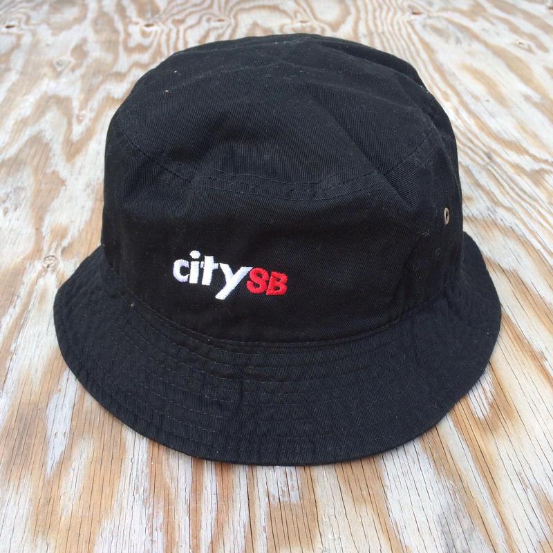 citySBバケットハットBLACK/春物
