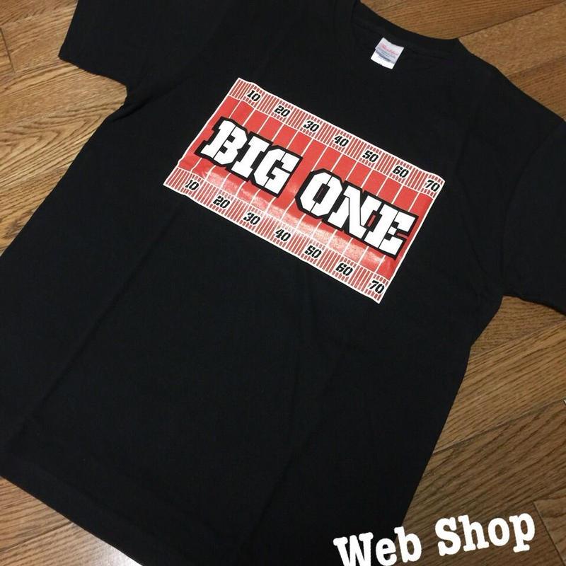 BIG ONEロゴTシャツ(黒)