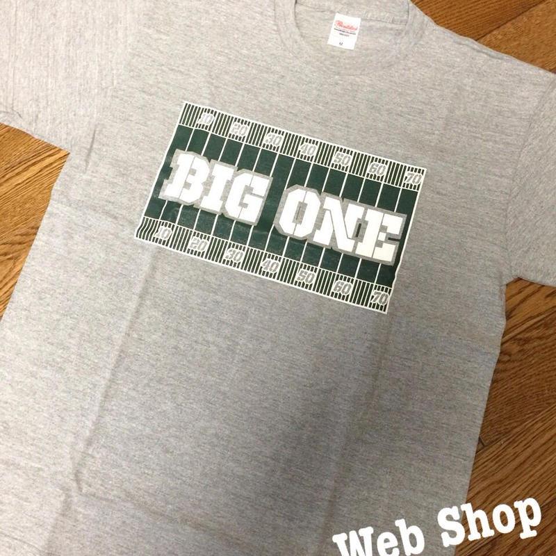 BIG ONE ロゴTシャツ(グレー)