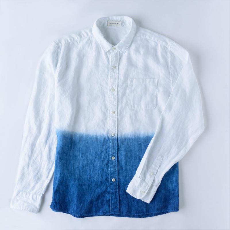 Y-Shirt / Gradation Blue