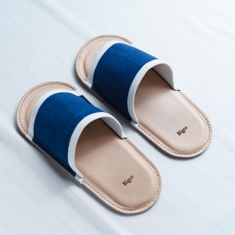 Leather Sole Slippers