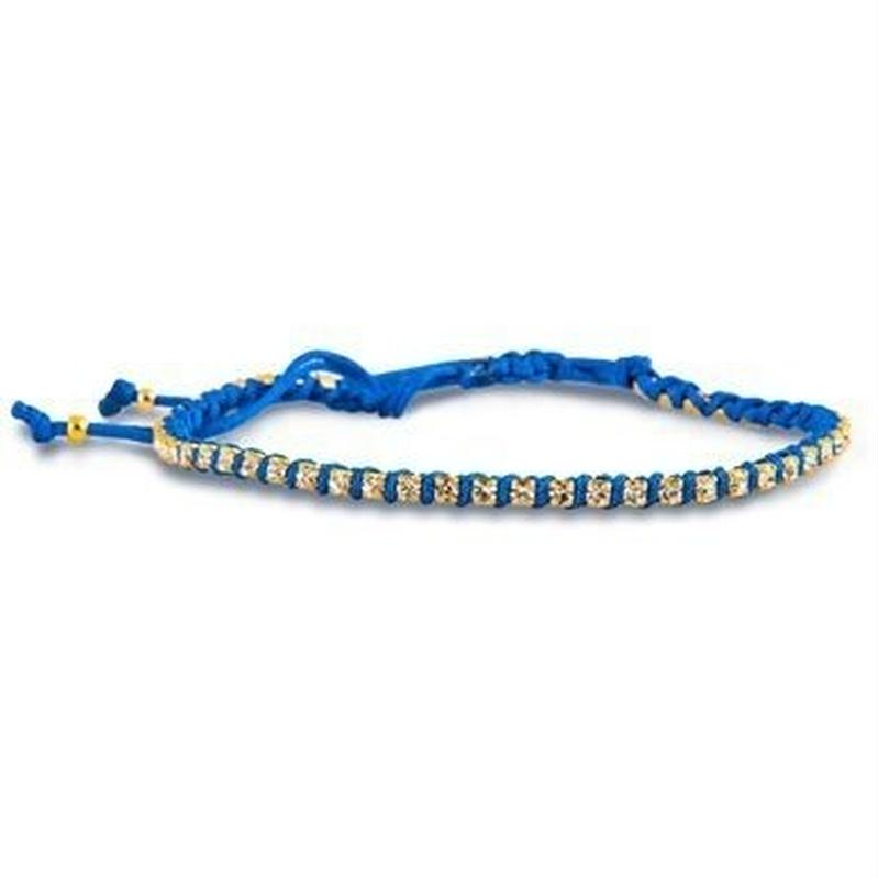 amorium Jewelry friendship bracelet/ Blue