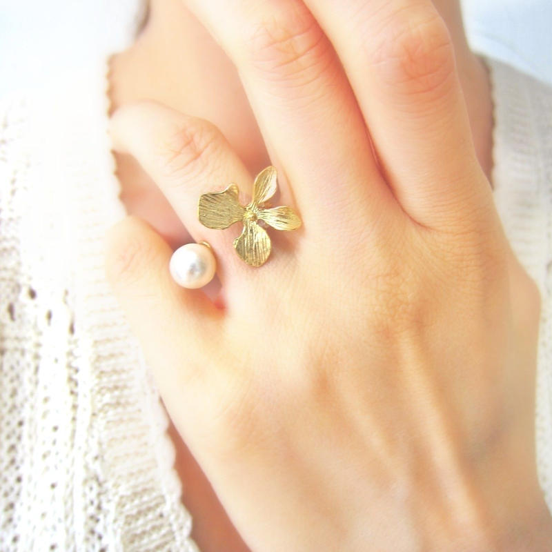 Sumire & Pearl ring