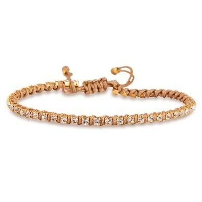 amorium Jewelry friendship bracelet/ Neon camel