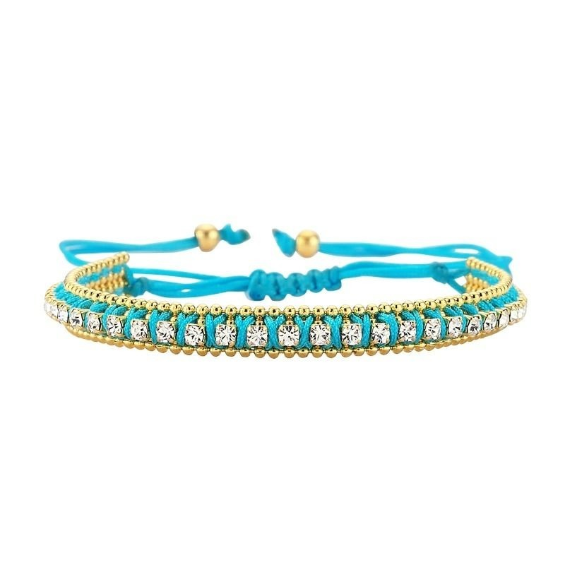 amorium Jewelry thick bracelet / Blue