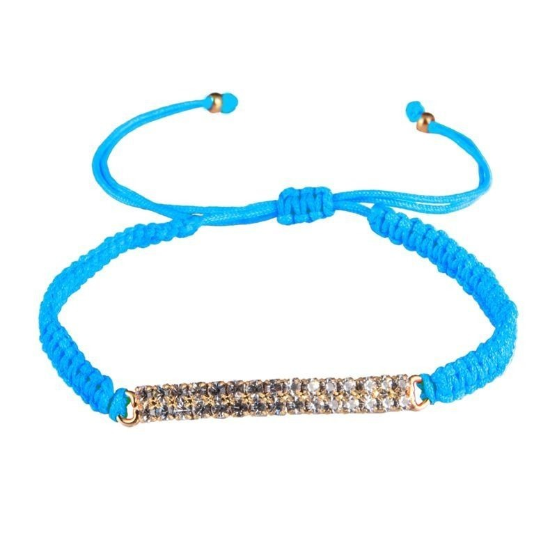 amorium Jewelry Thread bracelet / blue