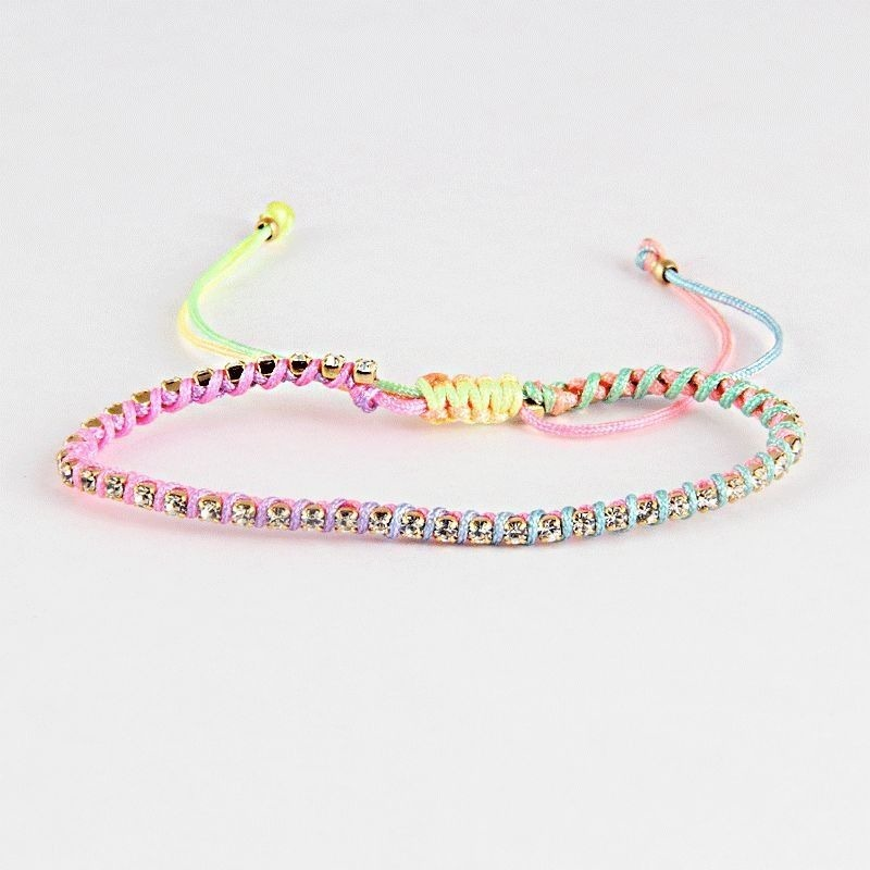 amorium Jewelry friendship bracelet / Rainbow