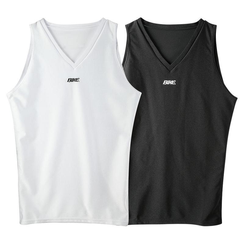 【お届けまで3~4週間】ジュニアVネックノースリーブシャツ(BK4820) 15カラー
