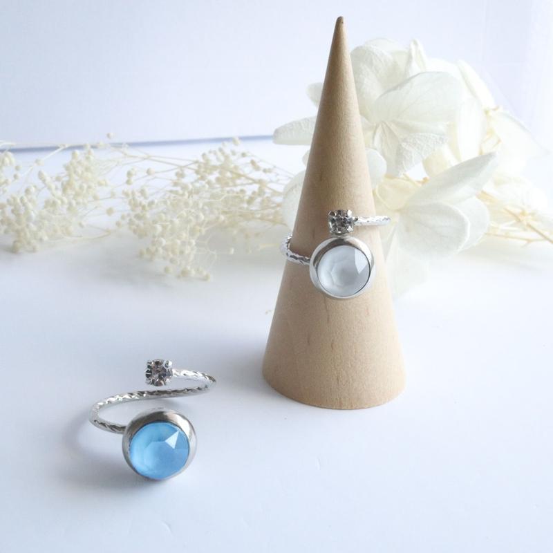 bijou リング 【silver】(2color)