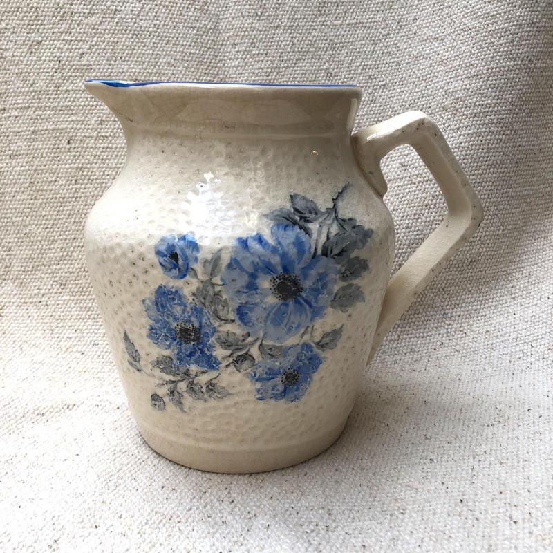 ブルーのお花のJag