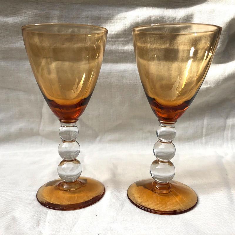 ポコポコステムのワイングラス
