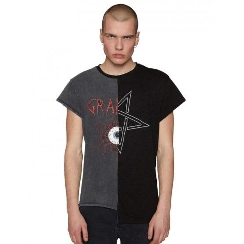 Granted/T-Shirt In Spliced Tour Print