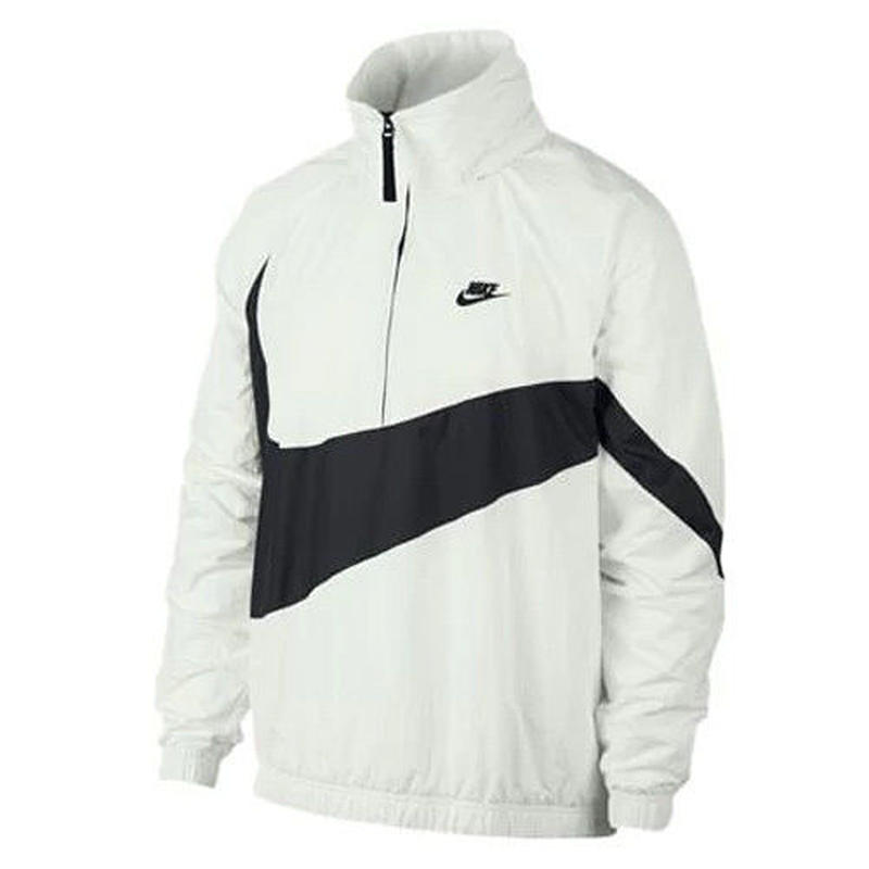NIKE/US規格 BIG SWOOSH ANORAK JACKET ホワイト