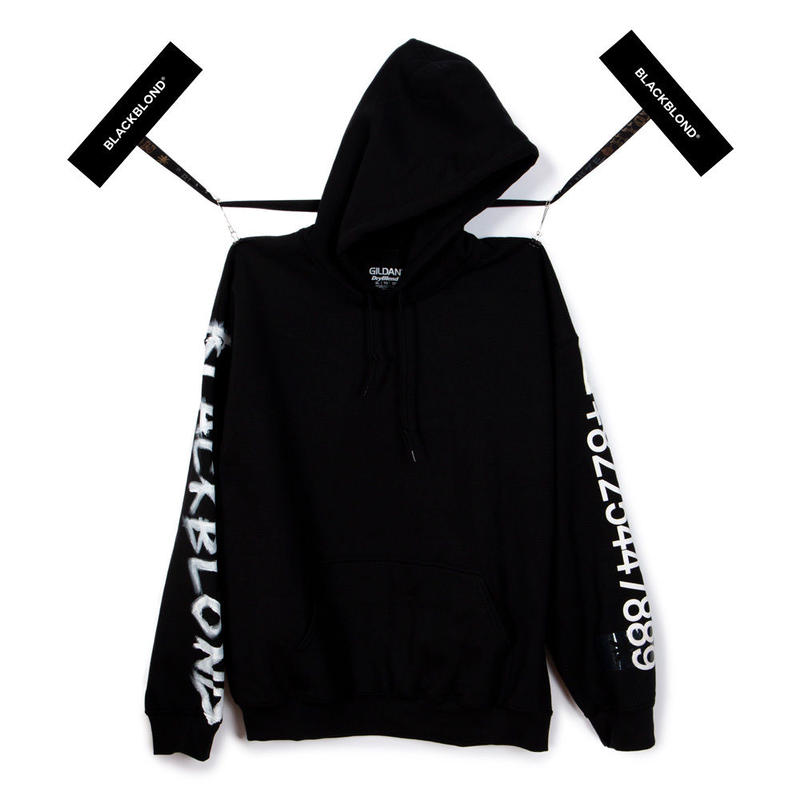 BLACK BLOND/CUSTOM Hoodie (BLACK)