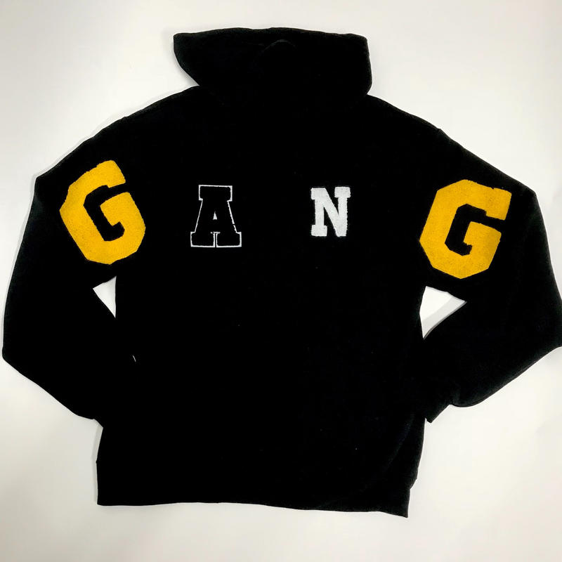 Mismatch NYC/G.A.N.G Hoodie BLACK