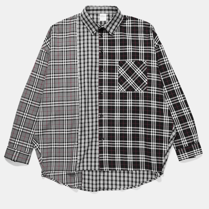 WOSS.official/patchwork shirt