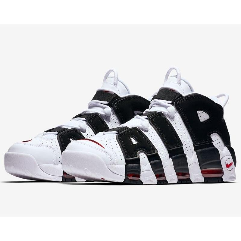 "Nike/Air more uptempo   ""Black×White"" MENS"