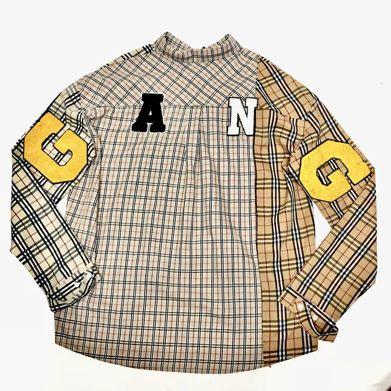 Mismatch NYC/G.A.N.G  NOVA Check shirts