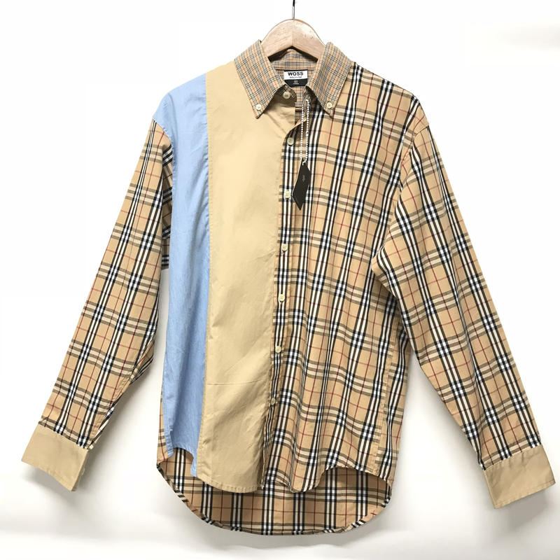 WOSS.official/patchwork Flanel shirts