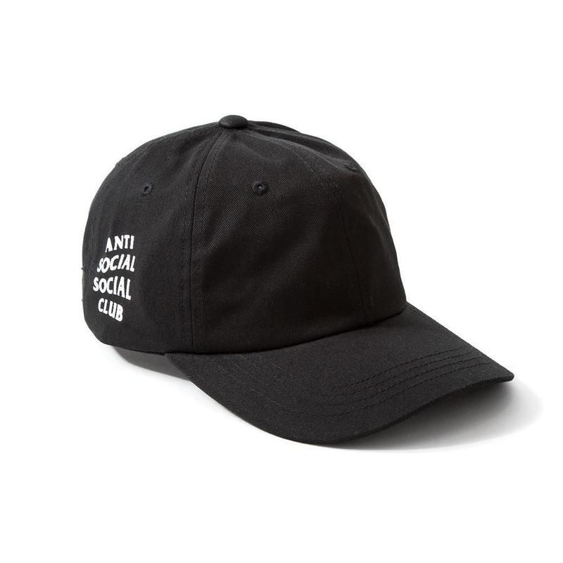 Anti Social Social Club/WEIRD  CAPー BLACK