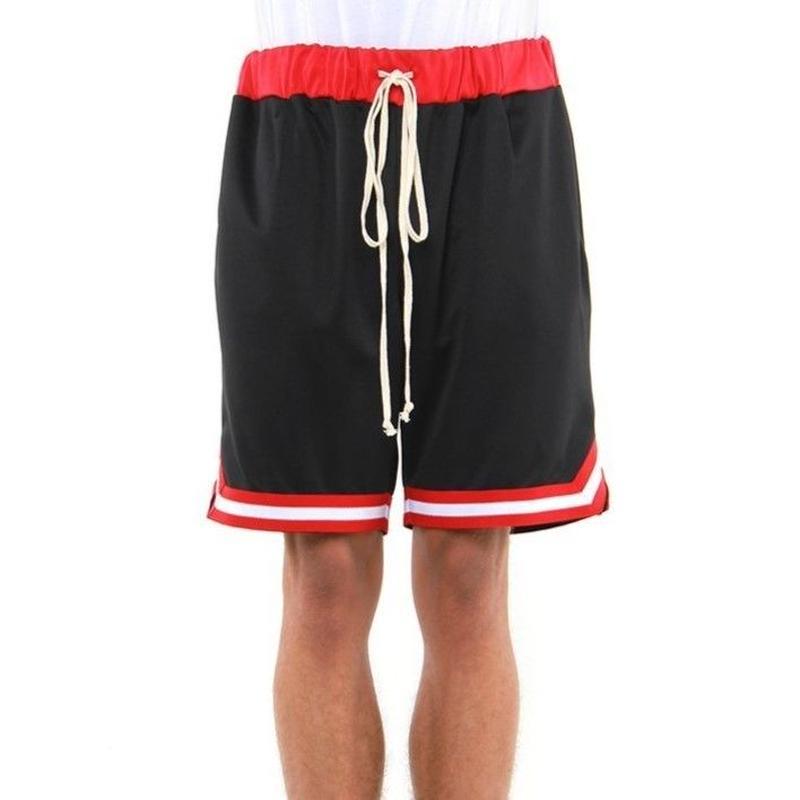 EPTM/BasketBall Shorts Black×Red