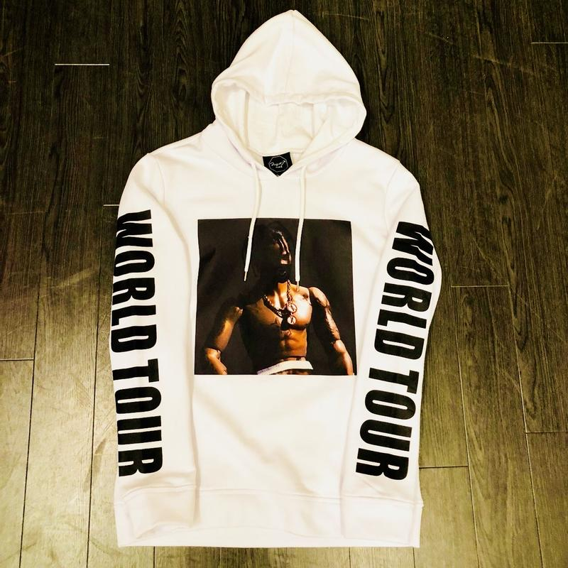 Project Paris ×Travis Scott/Hoodie パーカー ホワイト