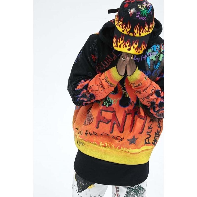 FNTY/Flying FLAME Hoodie