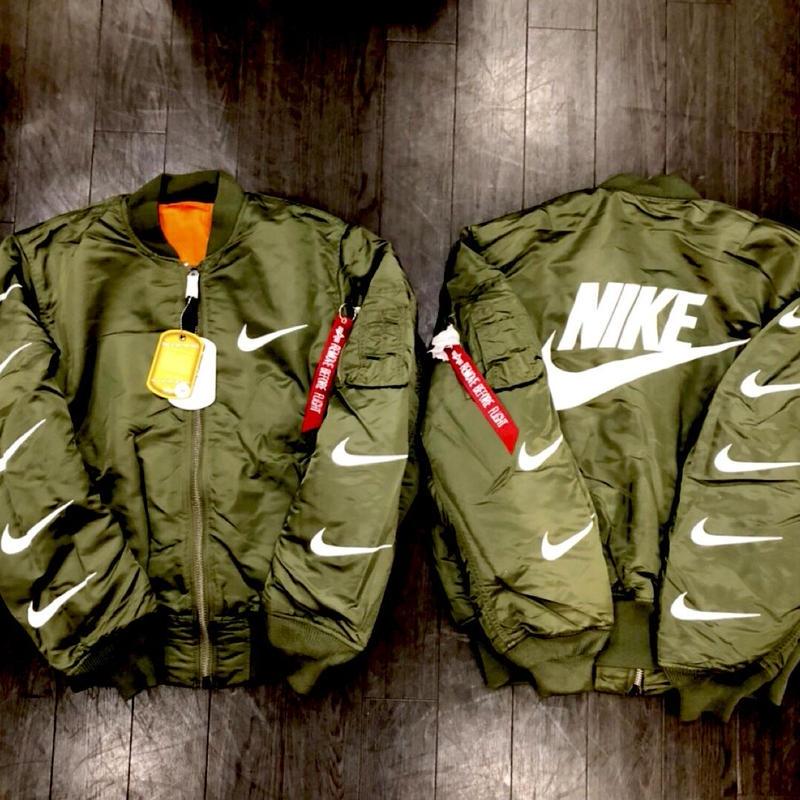 Bevertons Most Wanted/Alpha  custom MA1 Jacket  Khaki