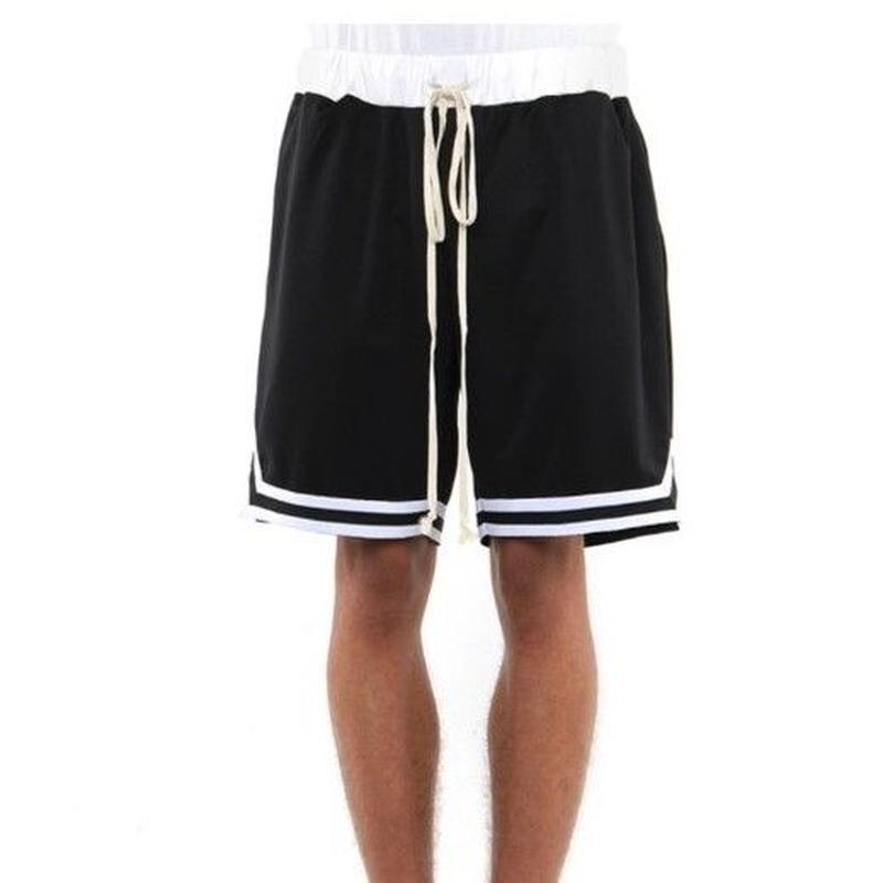 EPTM/BasketBall Shorts Black×White