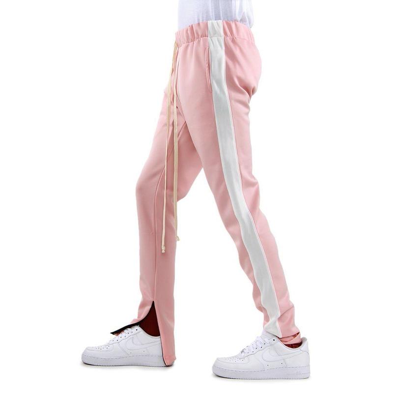 EPTM/トラックパンツ Pink×White