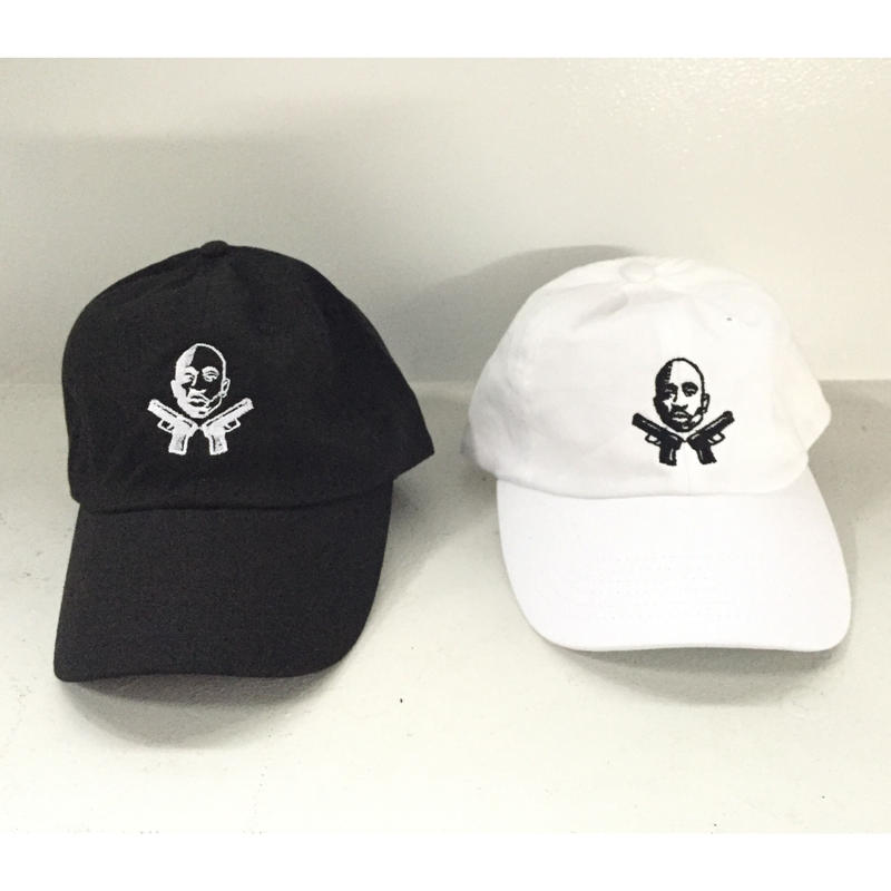 Iridium Clothing /2Pac guns Dad hat