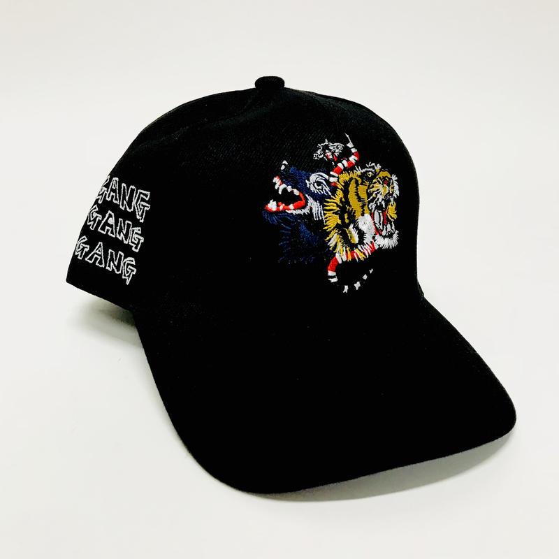 Mismatch NYC/GANG GANG GANG Cap  ブラック