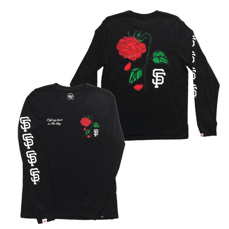 Petals and Peacocks × SF Giants /Long sleeve Tee